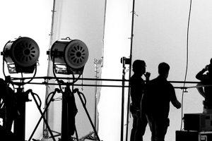 """Filmproduktion Hintergrundbild für """"Unsere Lösungen"""""""