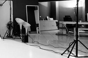 """Studio als Hintergrundbild von """"Wer wir sind"""""""