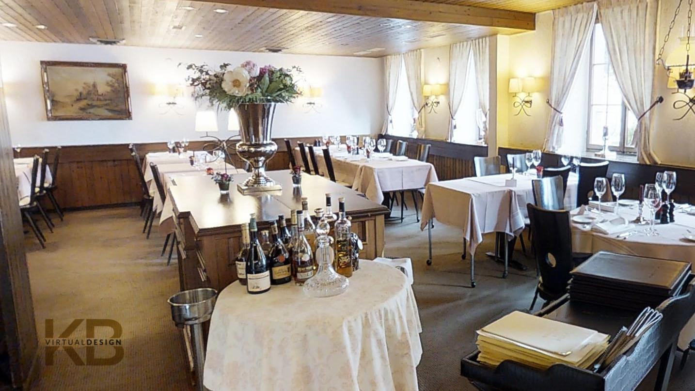 Fotografiemuster Restaurant